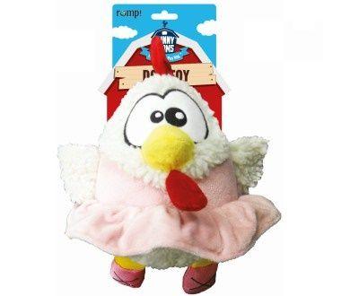 Игрушка R2P Funny Farms Цыпленок в юбке для собак