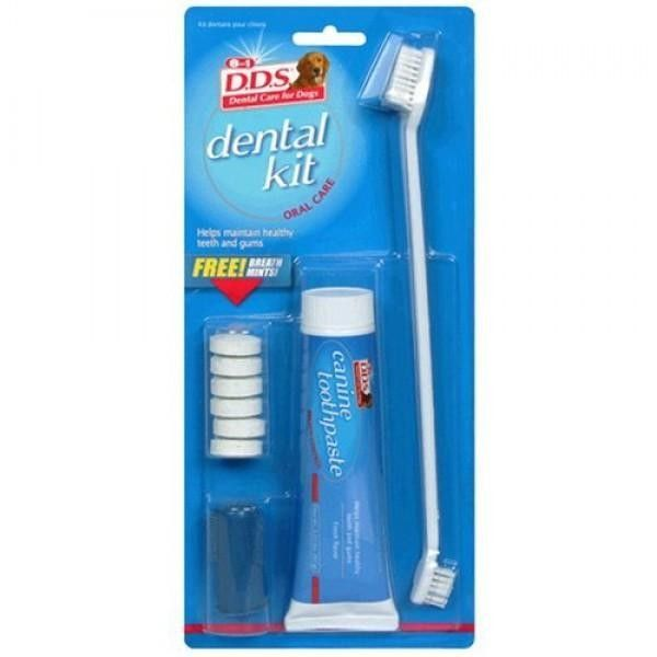Набор 8in1 Excel Deluxe Dental Kit для ухода за зубами собак