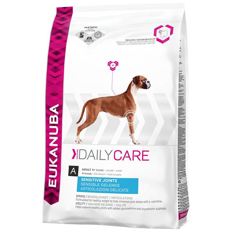 Сухой корм Eukanuba Daily Care Adult Sensitive Joints для собак с чувствит. суставами