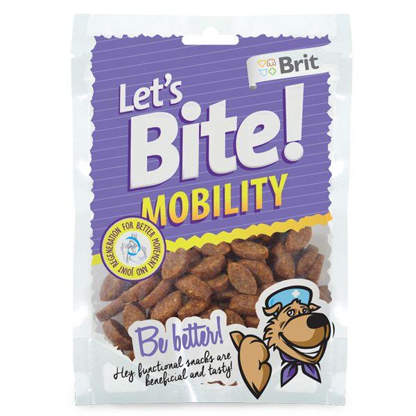 Лакомство Brit Let's Bite Mobility для собак 150 г