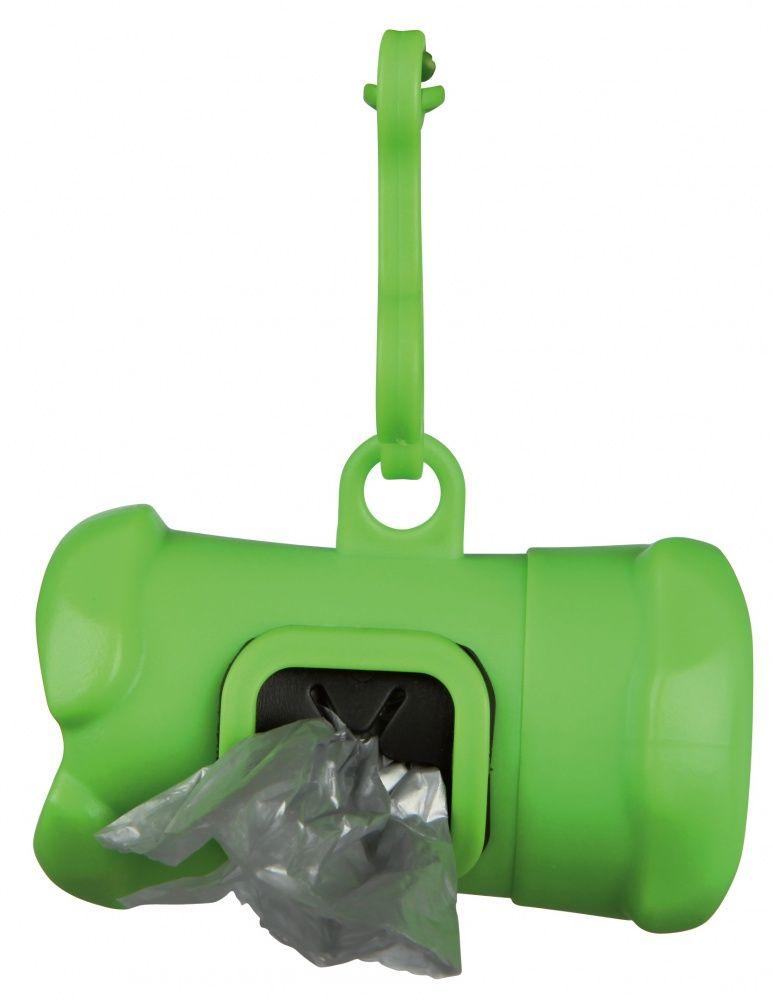 Контейнер Trixie пластиковый для уборочных пакетов за животными 15 пакетов