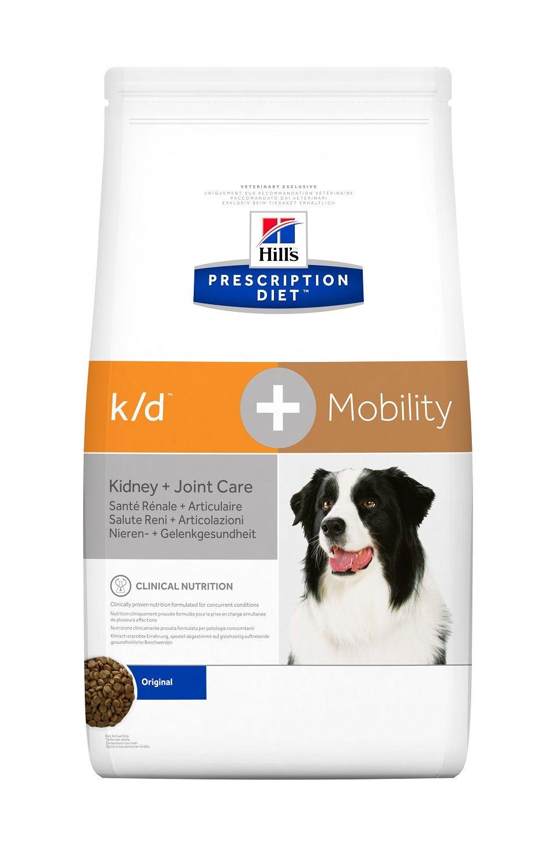 Сухой корм Hill's Prescription Diet K/D Kidney+Joint Care для лечения заболеваний почек и суставов у собак