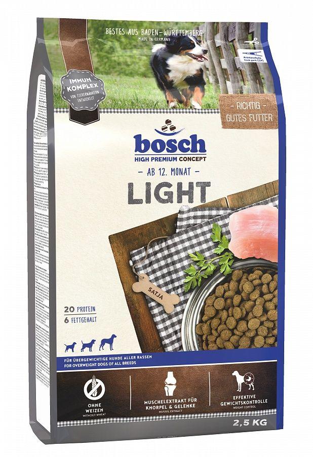 Сухой корм Bosch Light для собак с избыточным весом