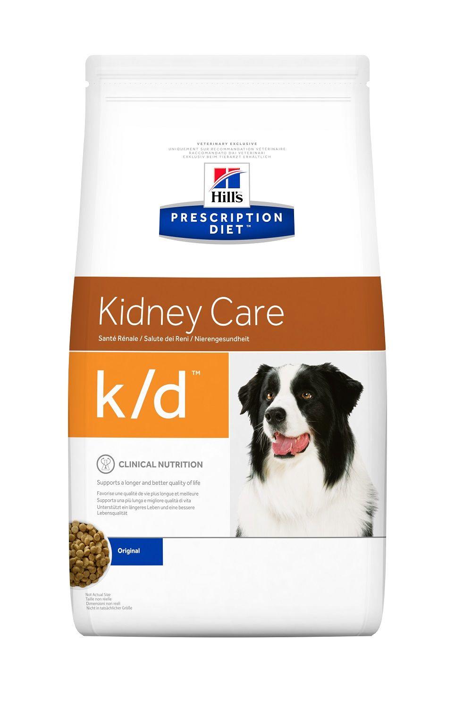 Сухой корм Hill's Prescription Diet K/D Kidney Care для лечения заболеваний почек у собак