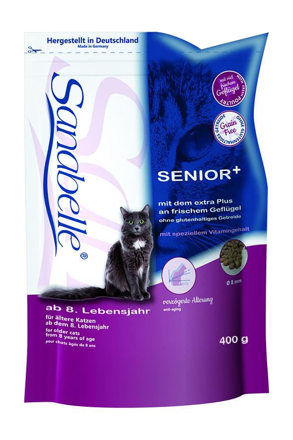 Сухой корм Sanabelle Senior для пожилых кошек и котов
