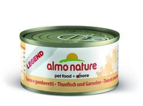 Консервы Almo Nature Legend с тунцом и креветками для взрослых кошек
