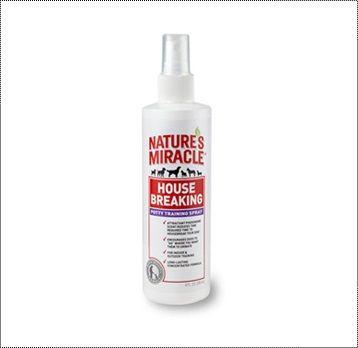 Средство для приучения к туалету 8in1 Nature's Miracle House-Breaking Spray для собак 237 мл