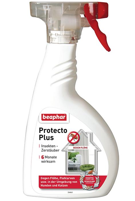 Спрей Beaphar Protecto Plus для обработки помещений от паразитов