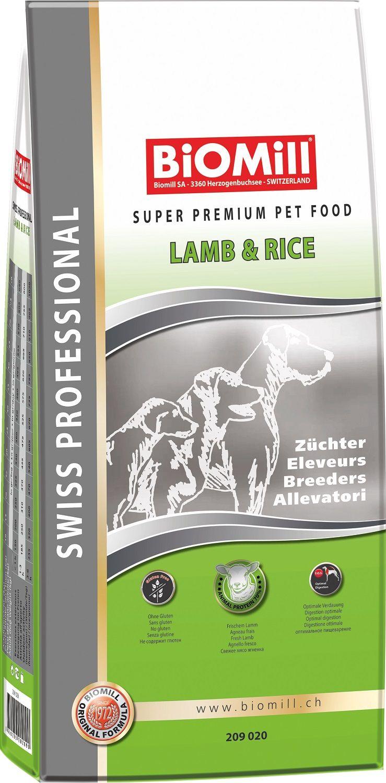 Сухой корм Biomill Professional Breeders Lamb&Rice для привередливых и проблемных собак