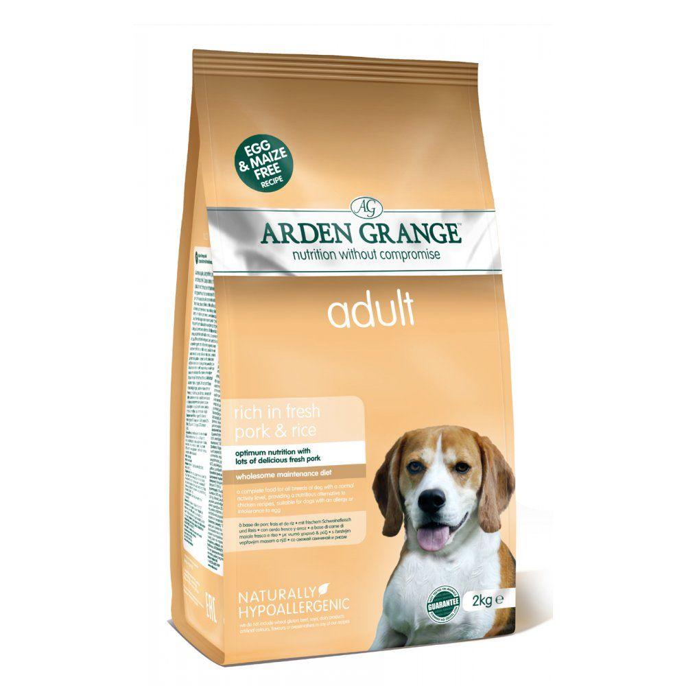 Сухой корм Arden Grange Adult Dog со свининой и рисом для взрослых собак