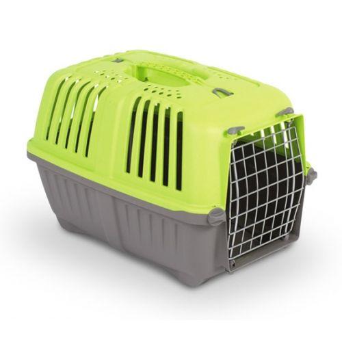 Переноска MPS Pratico с металлической дверцей для кошек и маленьких собак