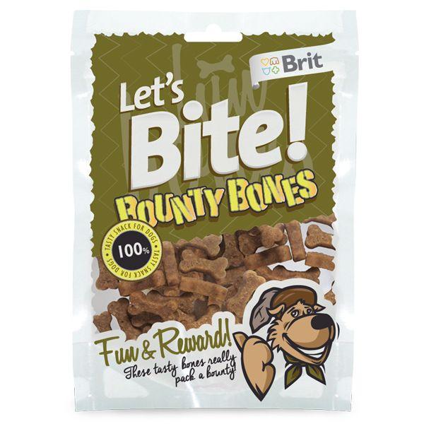Лакомство Brit Let's Bite Bounty Bones Косточки для собак 150 г