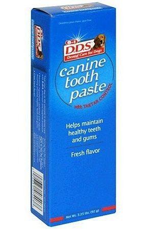 Зубная паста 8in1 DDS Canine Tooth Paste для собак 92 г