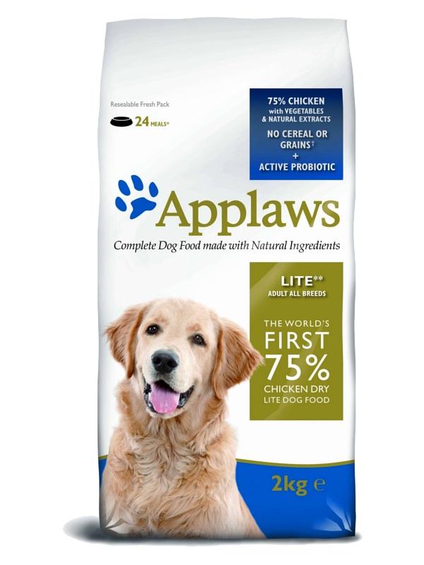 """APPLAWS Беззерновой корм для Собак - контроль веса """"Курица/Овощи"""""""
