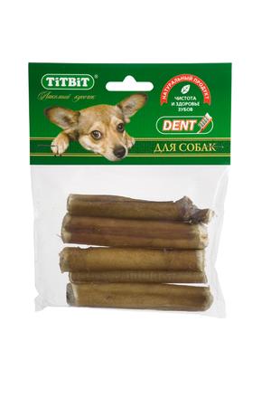 Корень бычий резаный TiTBiT в мягкой упаковке для собак
