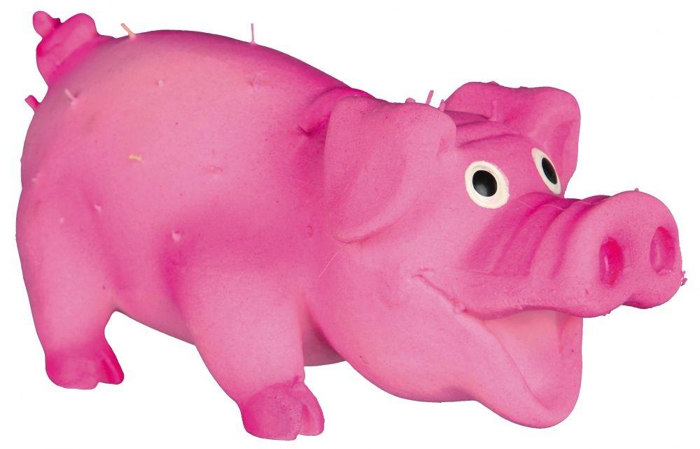 Игрушка Trixie Свинка со щетиной для собак