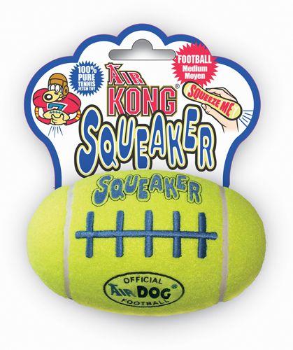 Игрушка Kong Air Dog Squeaker Football Мяч-регби средний для собак 14 см