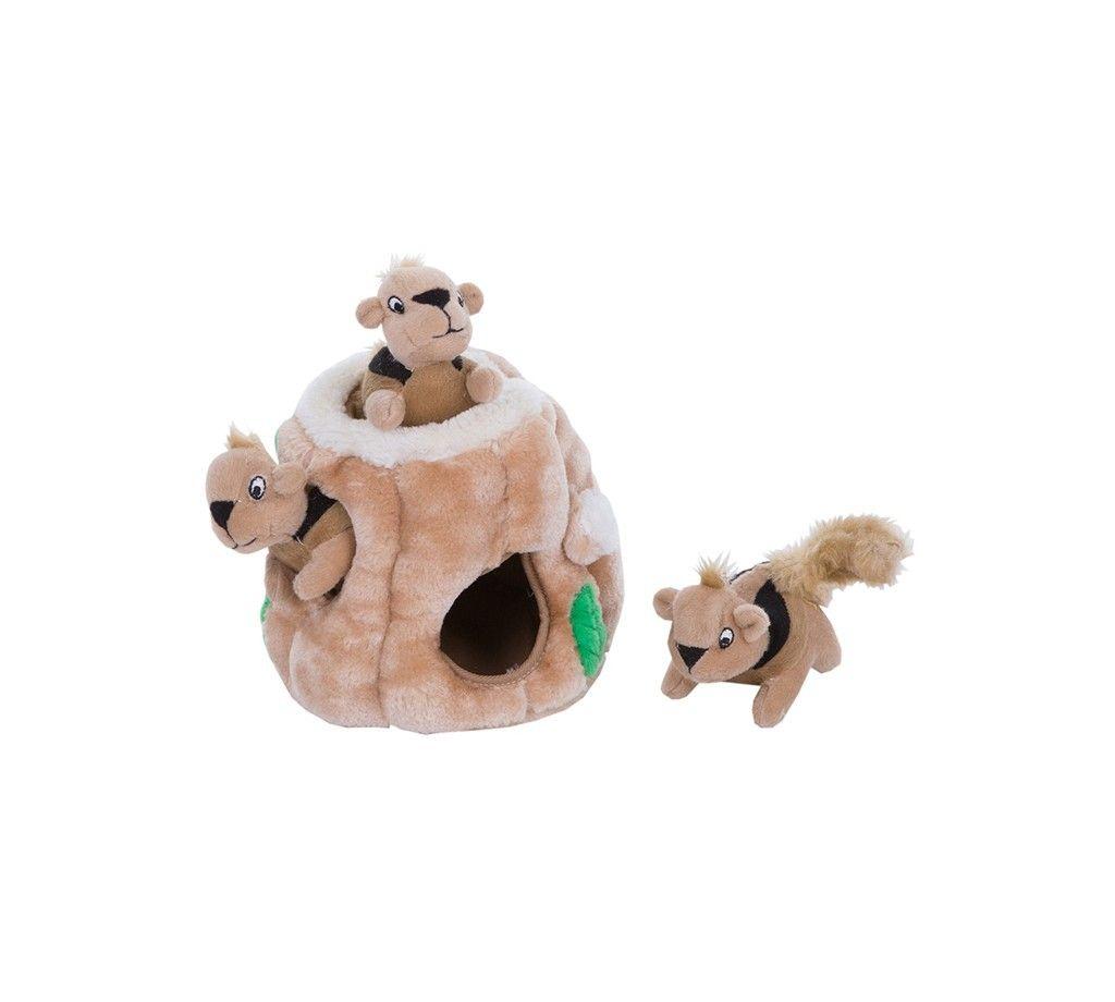 Игрушка Petstages Hide-A-Squirrel Спрячь белку для собак