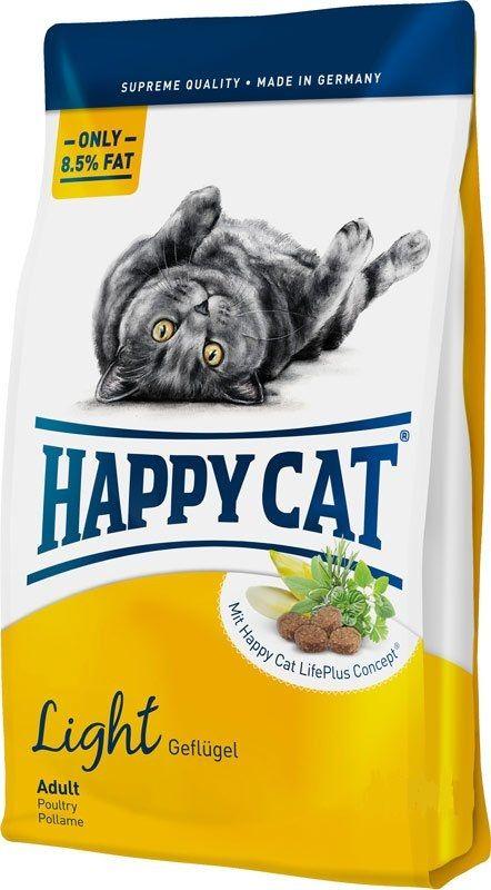 Сухой корм Happy Cat Adult Fit&Well Light для кошек, склонных к полноте