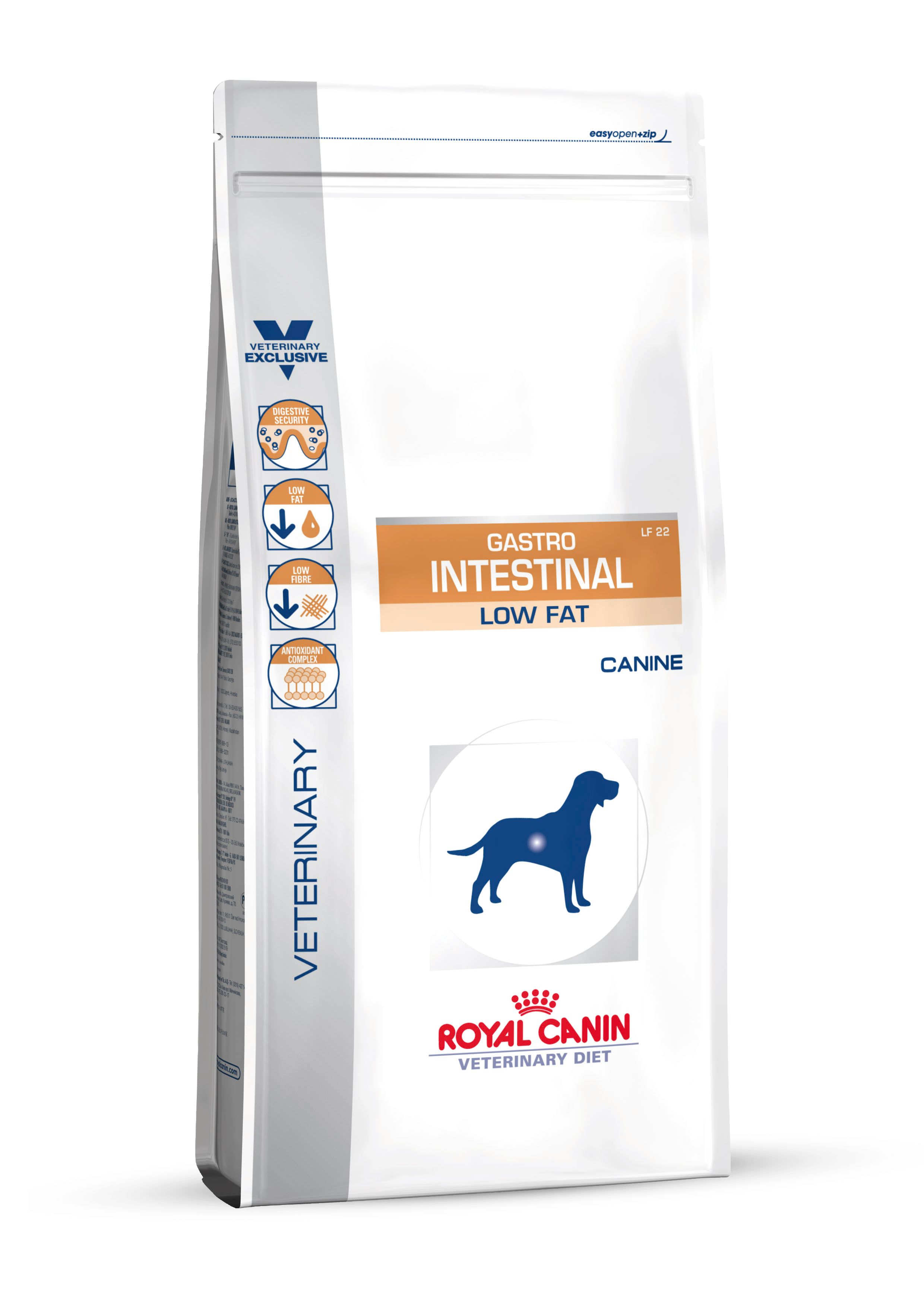 Сухой корм Royal Canin Gastro Intestinal Low Fat LF22 диета для собак с малым содержанием жира