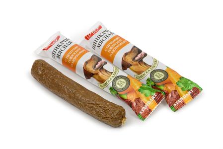 Шпикачка TiTBiT с печенью говяжьей и морковью St. для собак
