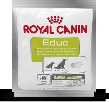 Лакомство Royal Canin Educ для обучения и дрессировки щенков и собак 30шт