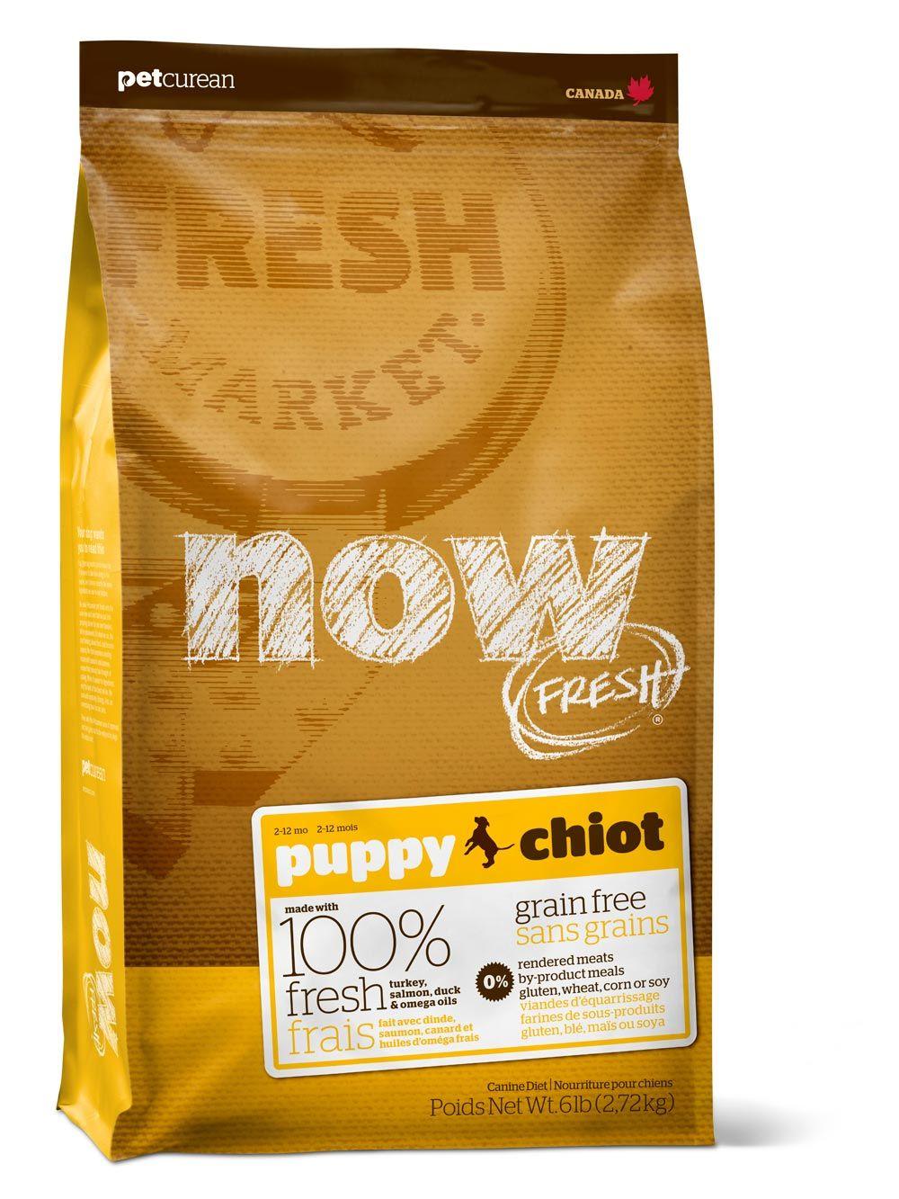 Сухой корм Now Fresh Puppy беззерновой с индейкой, уткой и овощами для щенков