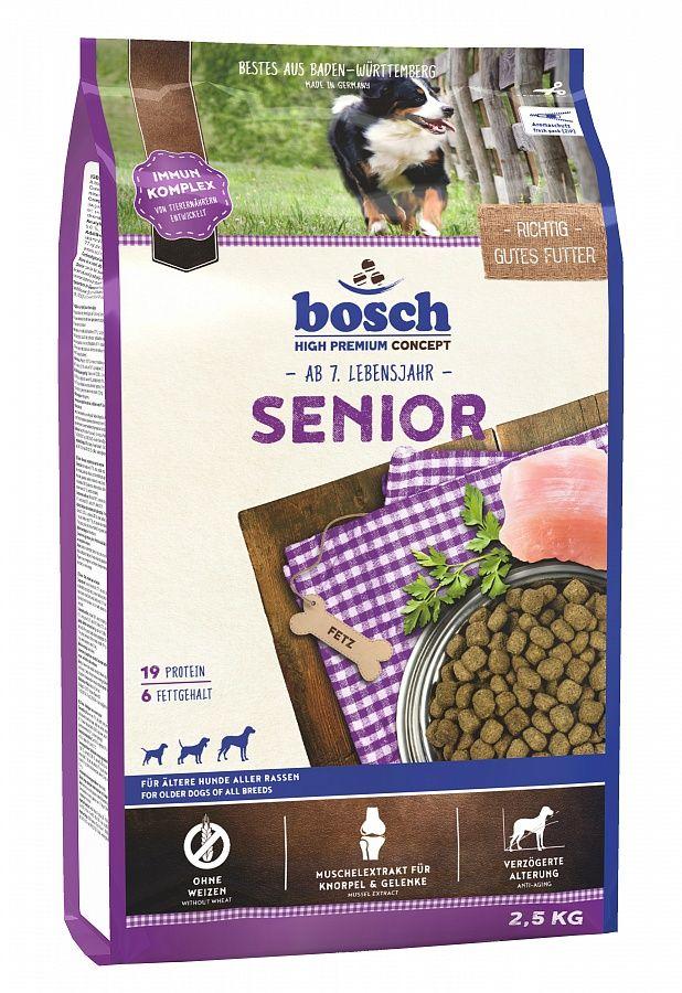 Сухой корм Bosch Senior для пожилых собак