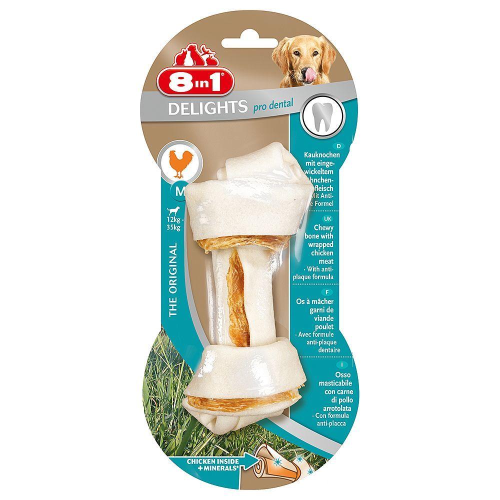 Косточка 8in1 Dental Delights с минералами для собак