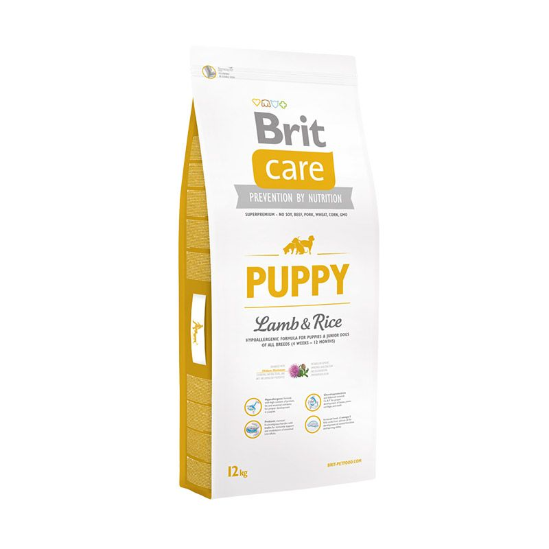 Сухой корм Brit Care Puppy All Breed c ягненком и рисом для щенков всех пород