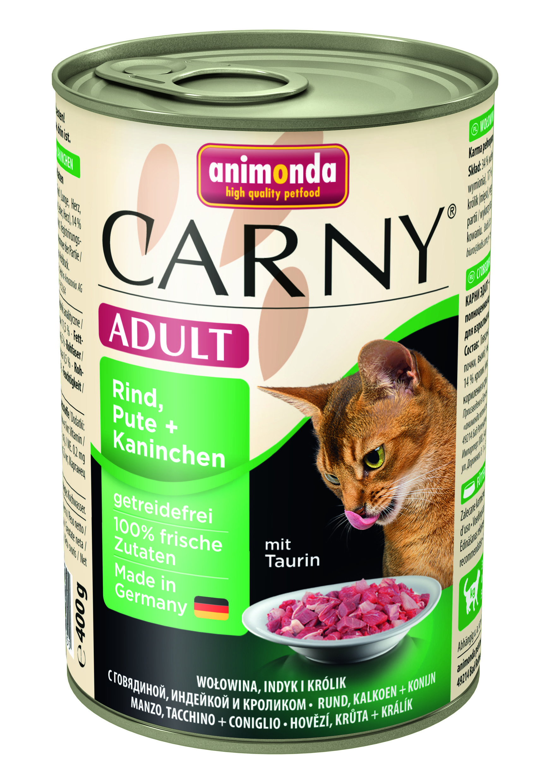 Консервы Animonda Carny Adult для взрослых кошек 400 г