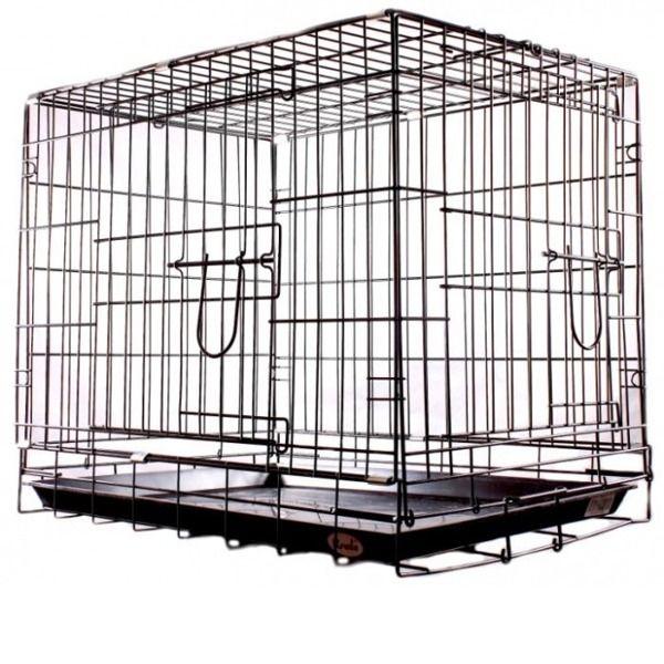 Клетка Kredo двухдверная для домашних животных