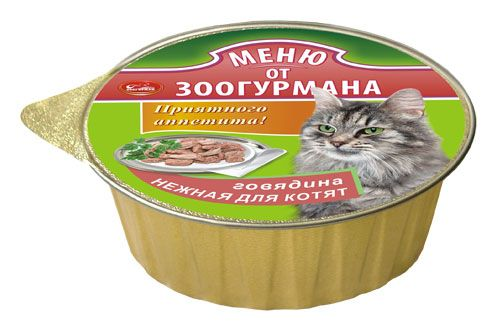 "Консервы Зоогурман ""Меню от Зоогурмана"" для котят"