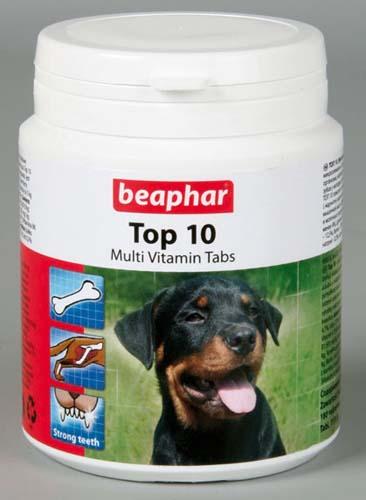 Пищевая добавка Beaphar Top 10 для собак