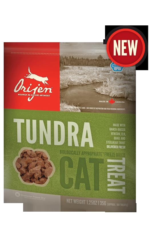 Лакомство Orijen Tundra сублимированное для кошек 35 г