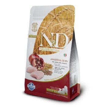 Сухой корм Farmina Natural&Delicious Low Grain Puppy Starter низкозерновой для щенков