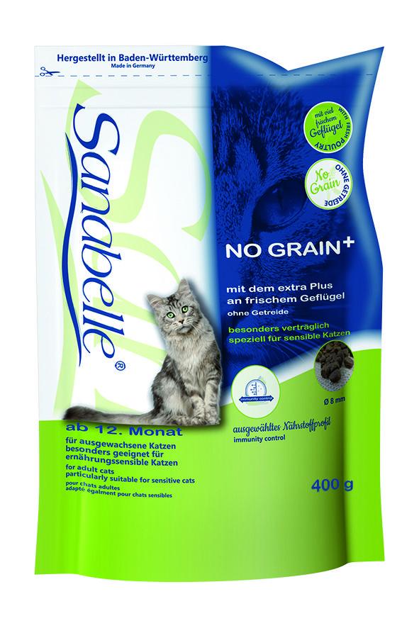 Сухой корм Sanabelle No Grain беззерновой для взрослых кошек