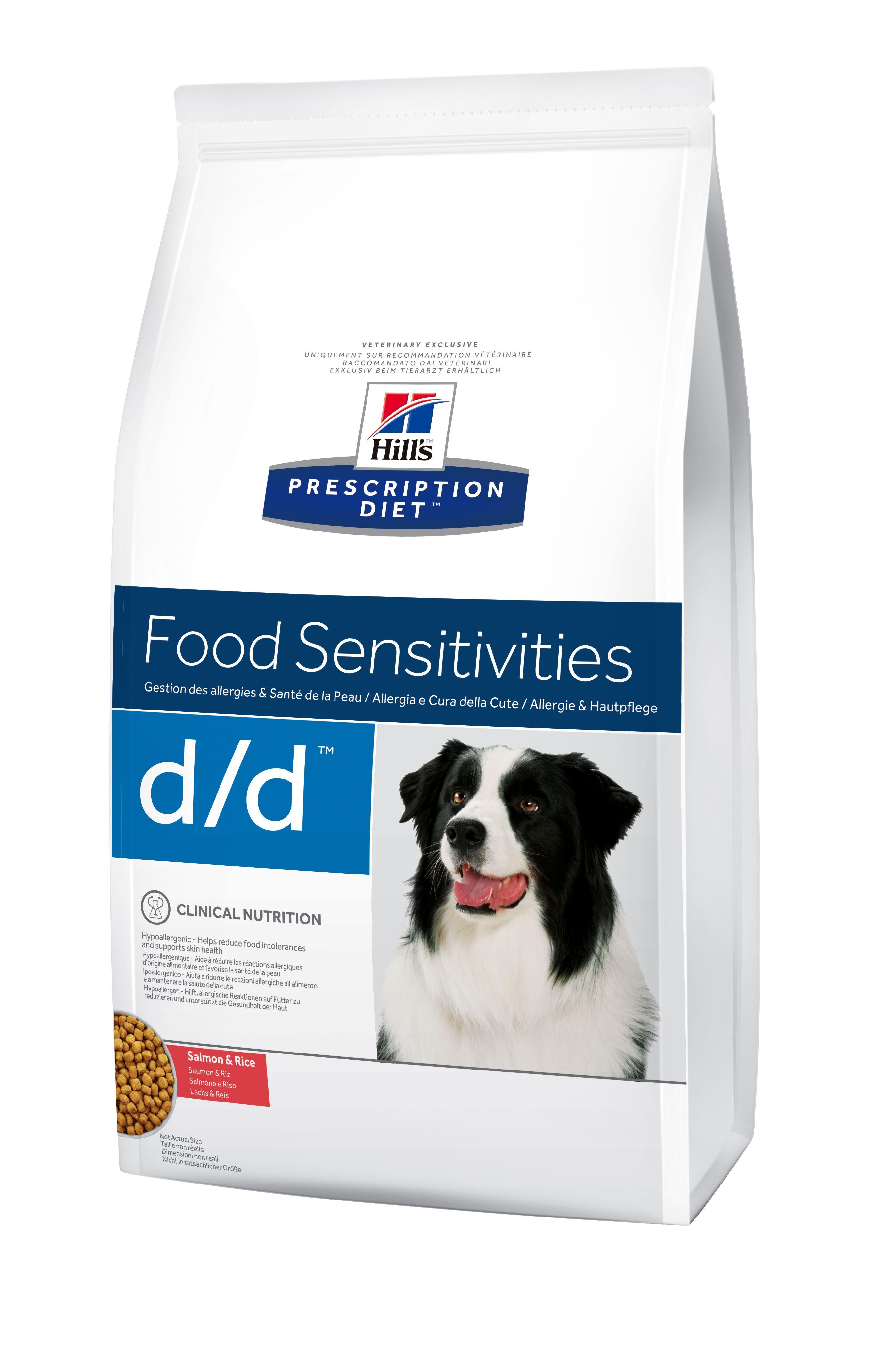 Сухой корм Hill's Prescription Diet D/D Food Sensitivities для лечения пищевых аллергий для собак