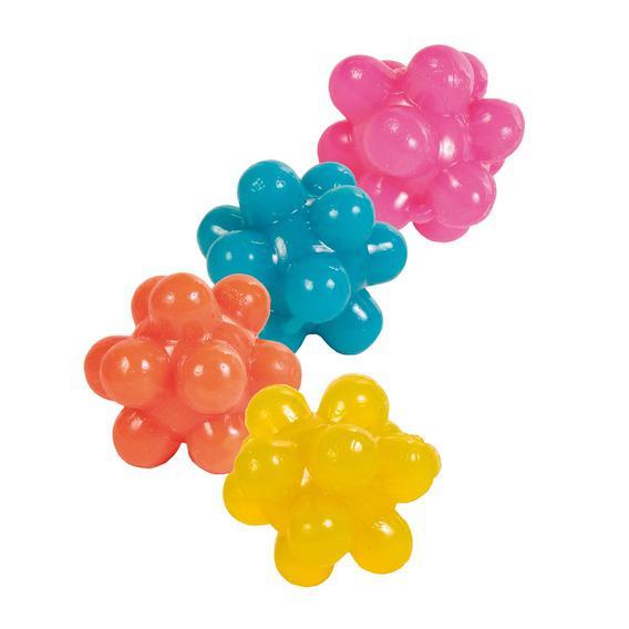 Мяч-ёжик Trixie резиновый, 3,3см, набор 4шт.