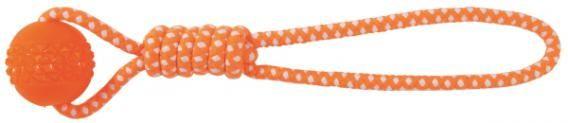 Игрушка Trixie Шар на веревке для собак