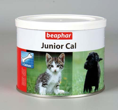 Минеральная смесь Beaphar Junior Cal для котят и щенков 200 г