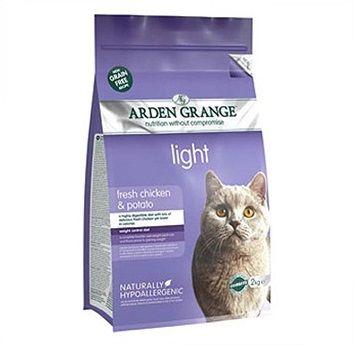Сухой корм Arden Grange Adult Cat Light диетический беззерновой для взрослых кошек