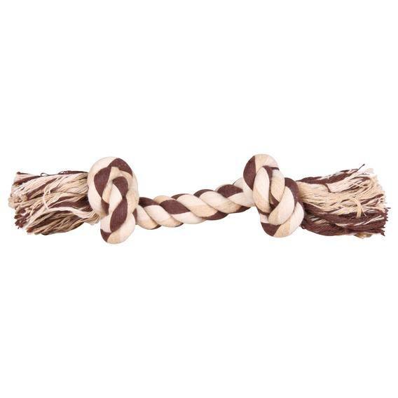 Игрушка Trixie Веревка с узлом цветная для собак