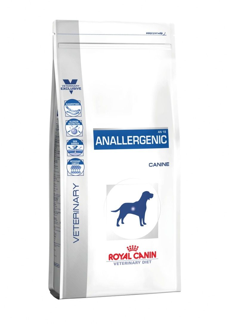 Сухой корм Royal Canin Anallergenic AN18 для собак с пищевой аллергией