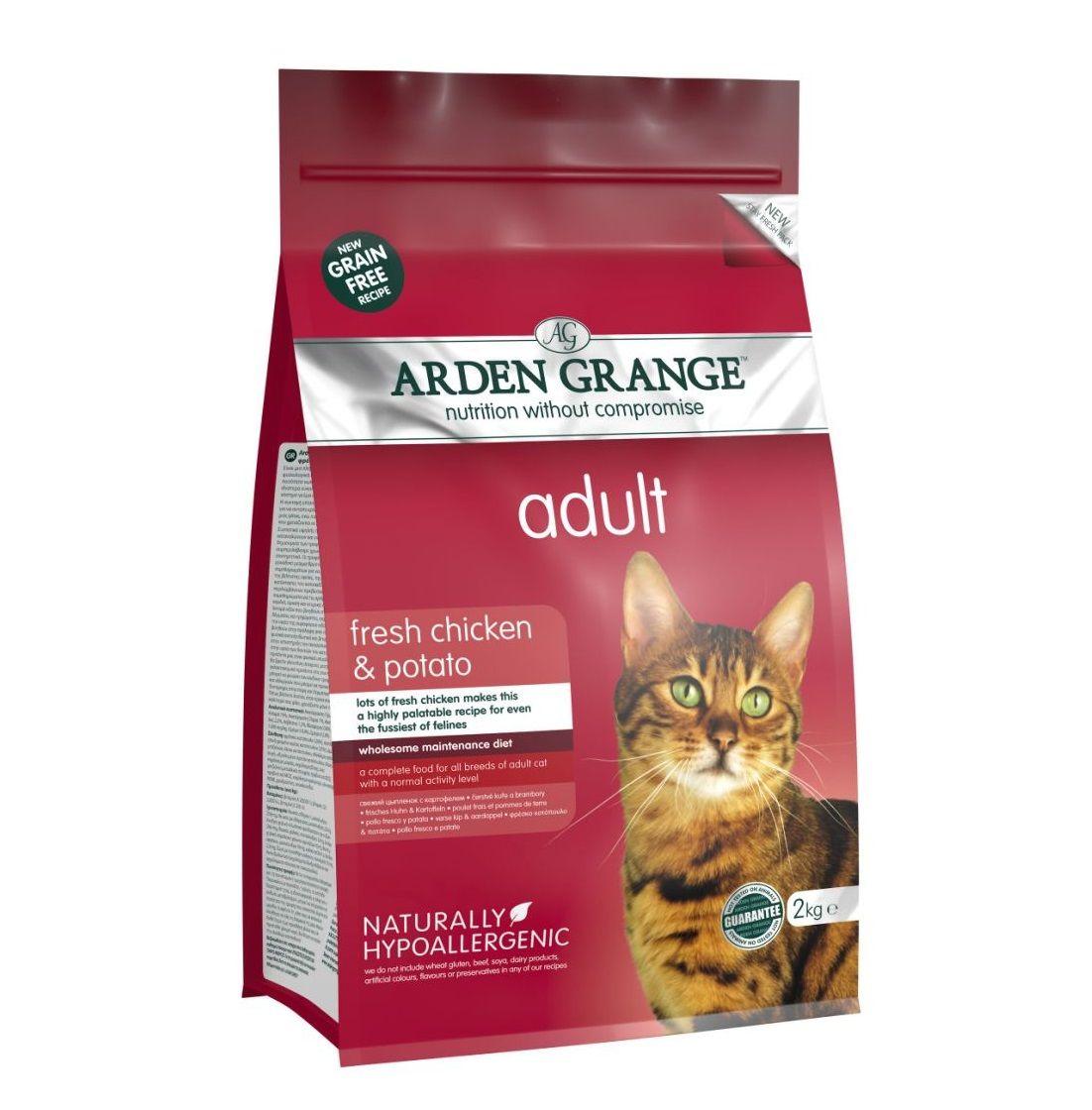 Сухой корм Arden Grange Adult Cat беззерновой для взрослых кошек