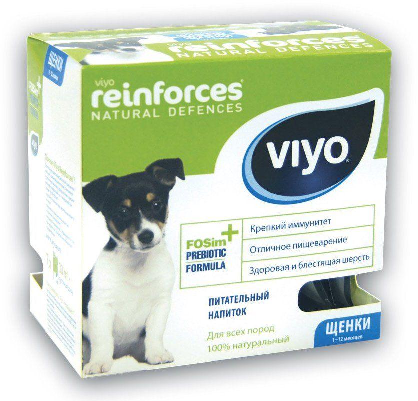 Питательный напиток Viyo Reinforces для укрепления иммунитета щенков 30 мл