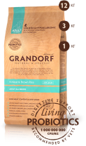 Grandorf 4 Meat & Brown Rice Adult All Breeds картинка